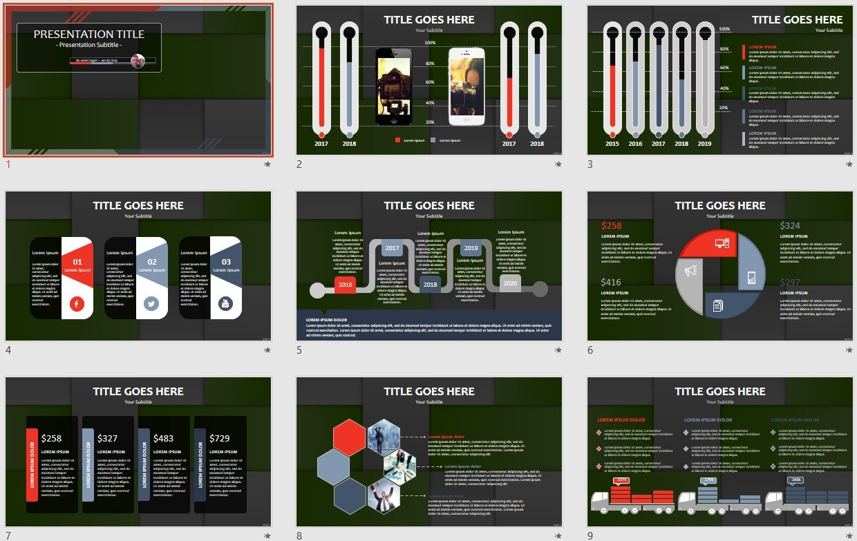 Free abstract squares powerpoint 109721 sagefox free powerpoint by james sager toneelgroepblik Gallery