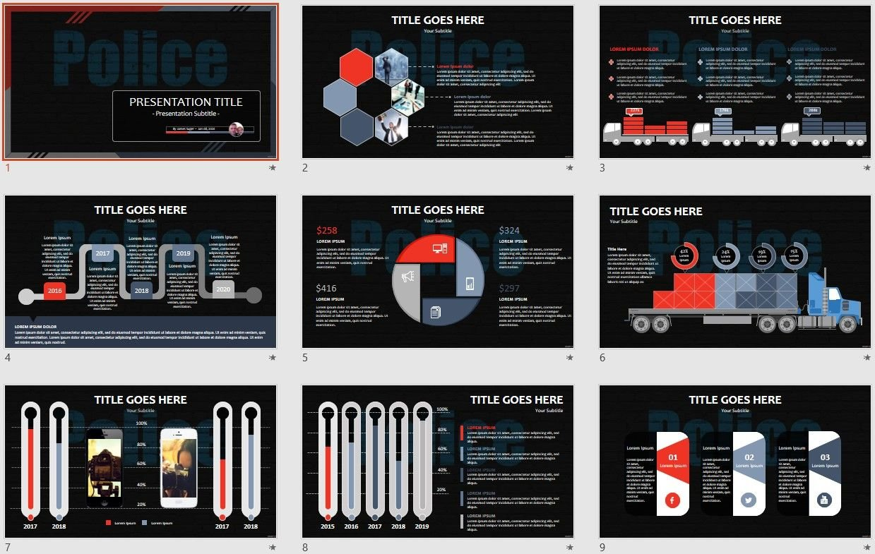 Free police powerpoint 107860 sagefox powerpoint templates please share this powerpoint template alramifo Image collections
