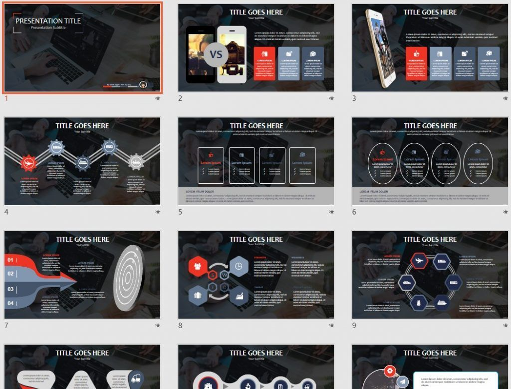 by james sager - 53 Powerpoint Template For Business Final