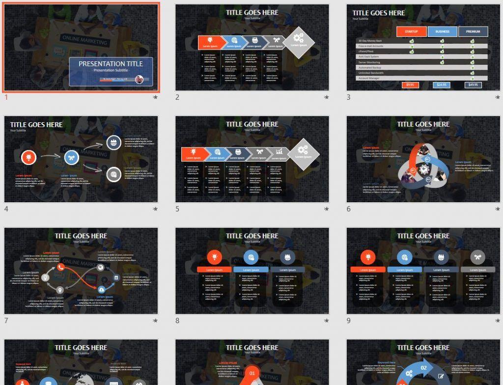 Free online marketing powerpoint 92808 sagefox free powerpoint by james sager toneelgroepblik Choice Image