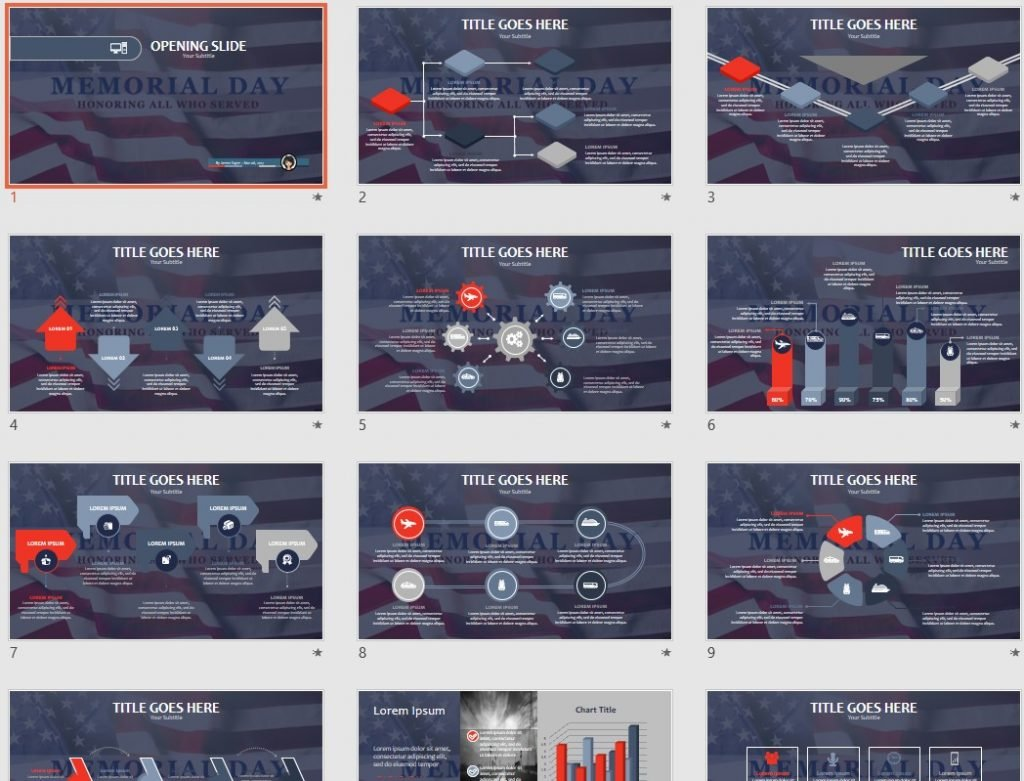 memorial powerpoint templates free