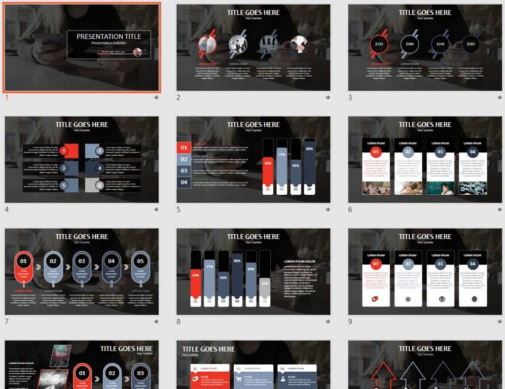 Free online shopping powerpoint 100267 sagefox powerpoint templates by james sager alramifo Image collections