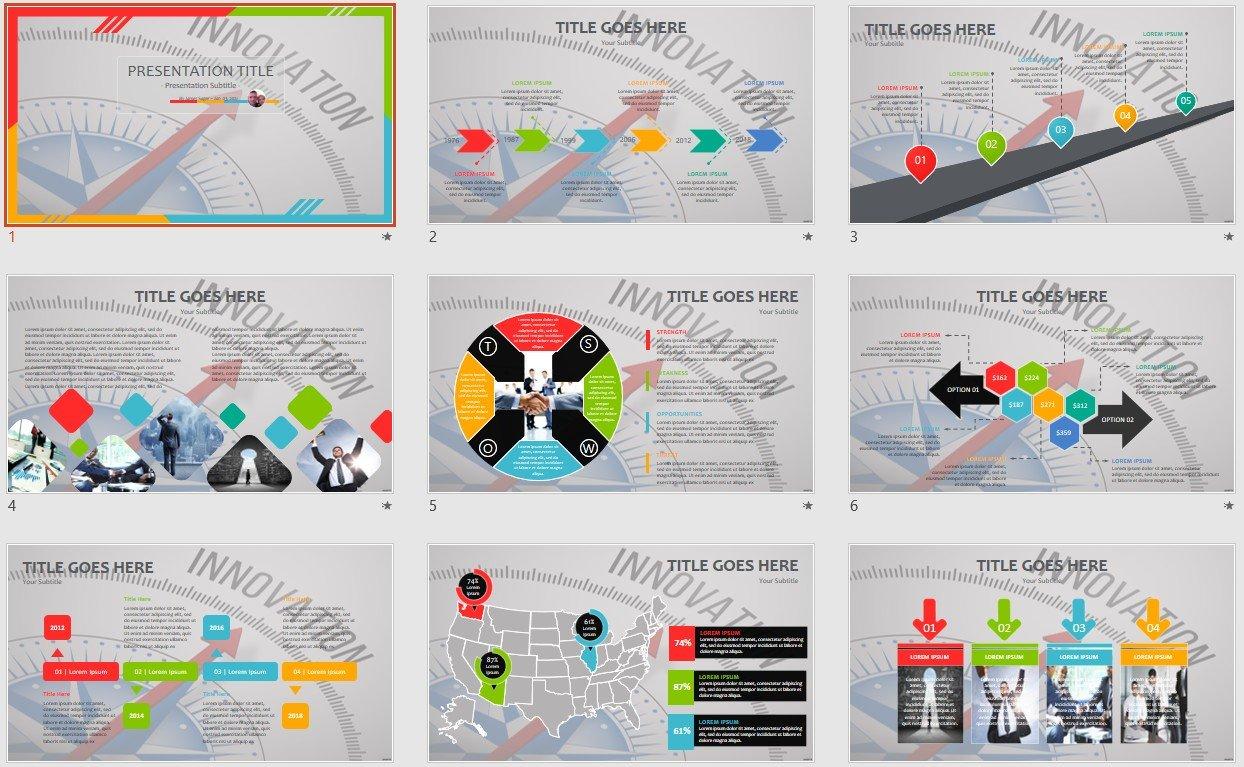 Innovation Powerpoint Template 110658 Sagefox Free