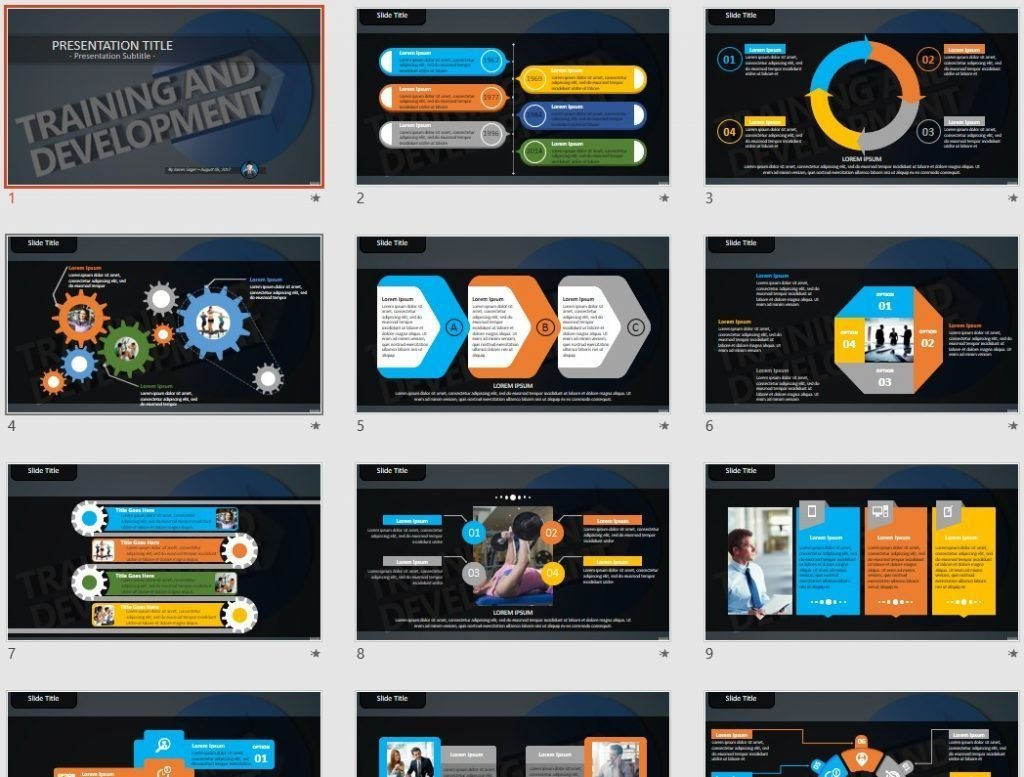free training and development powerpoint 86671 sagefox free