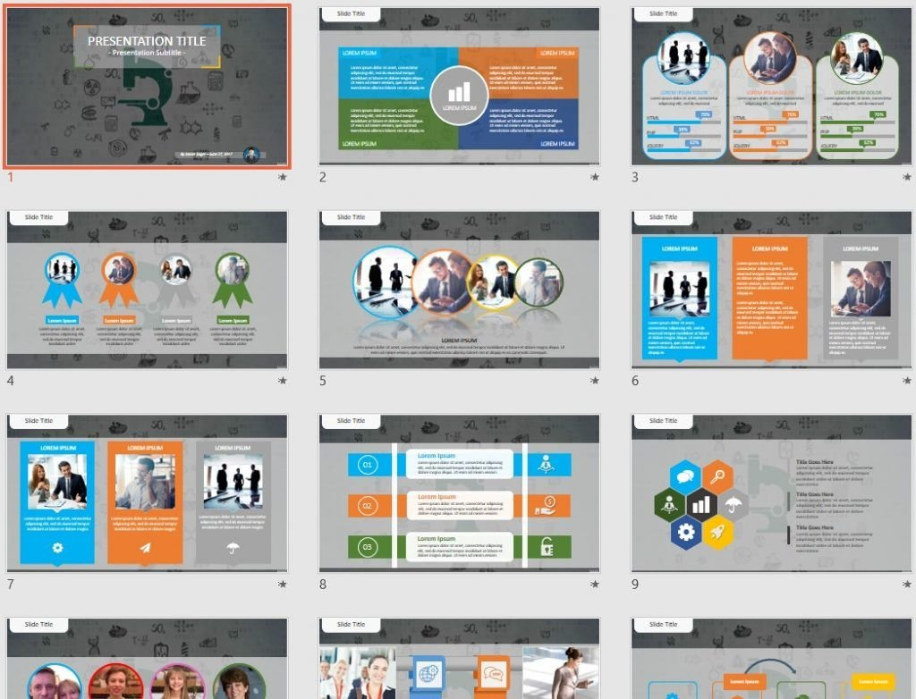 Free Science Powerpoint 50435 Sagefox Free Powerpoint Templates