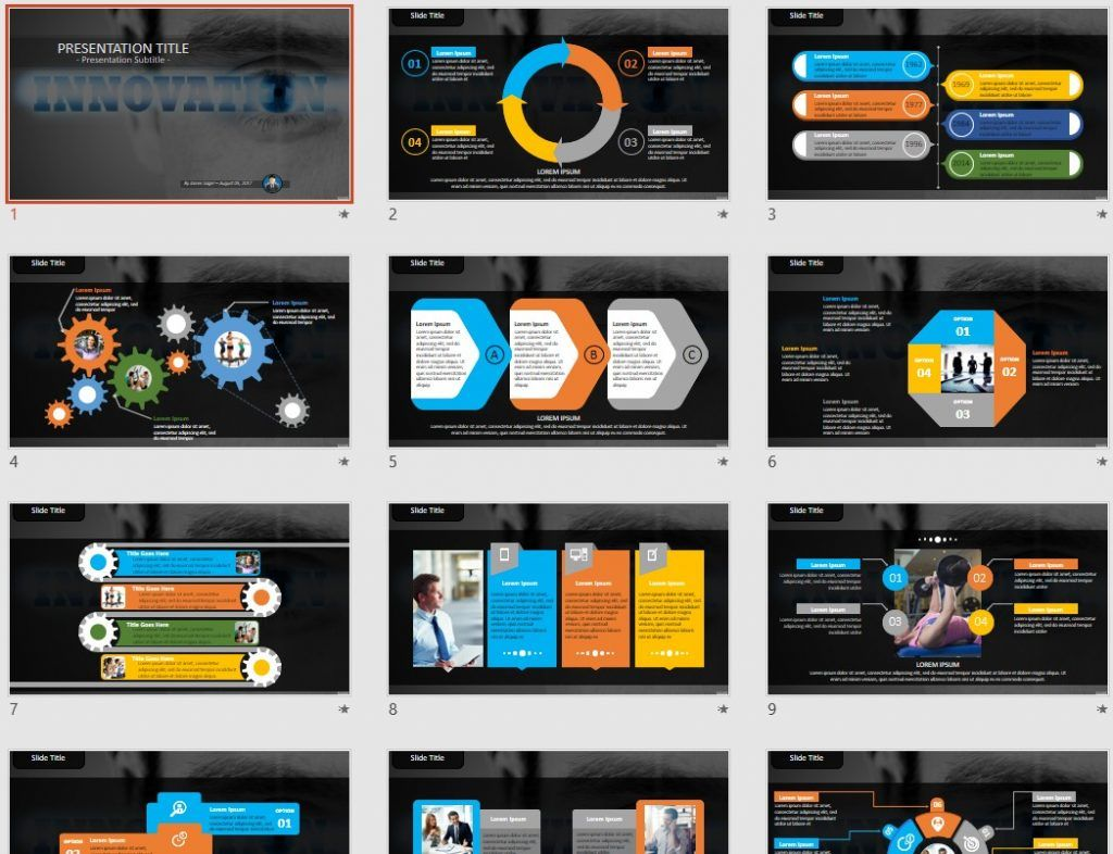 free innovation powerpoint 91619 sagefox free powerpoint templates