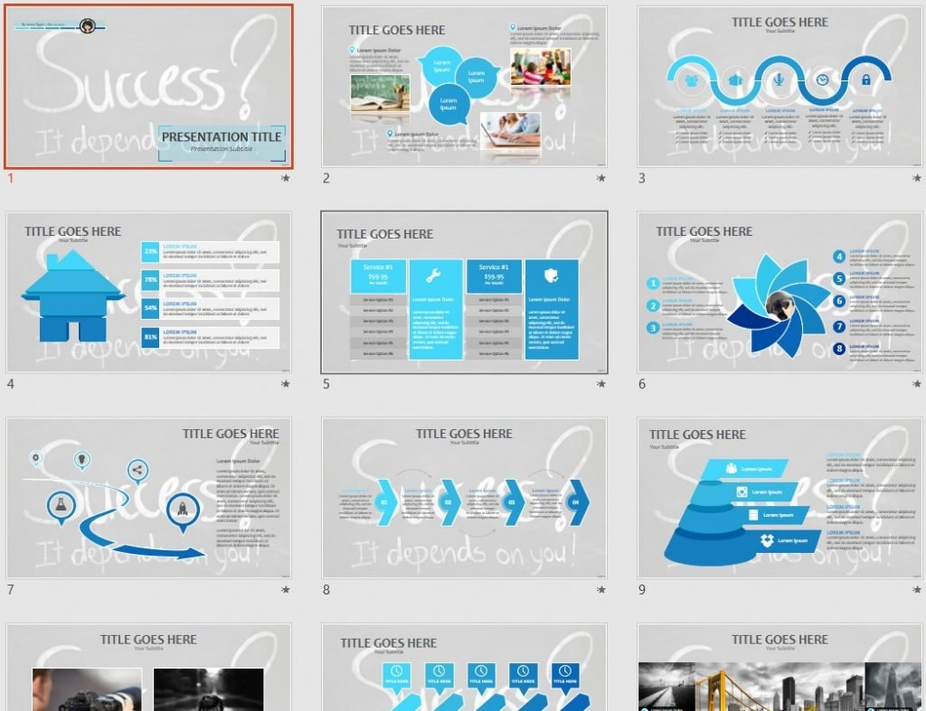 Free success powerpoint 95728 sagefox free powerpoint templates by james sager maxwellsz