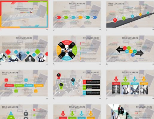 Economics powerpoint free economics powerpoint templates sagefox free recession powerpoint toneelgroepblik Image collections