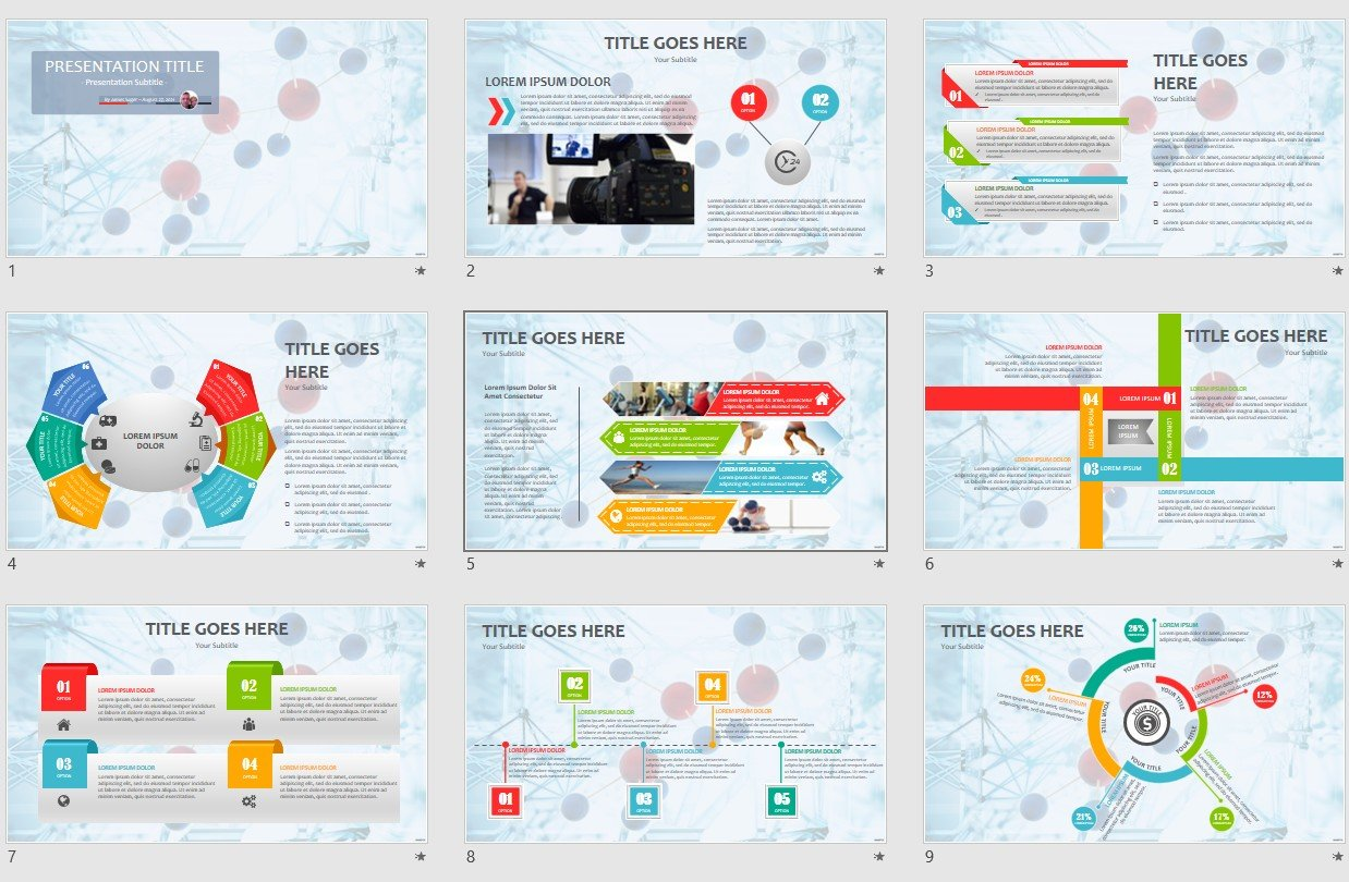 Free science concept powerpoint 125475 sagefox free powerpoint by james sager maxwellsz
