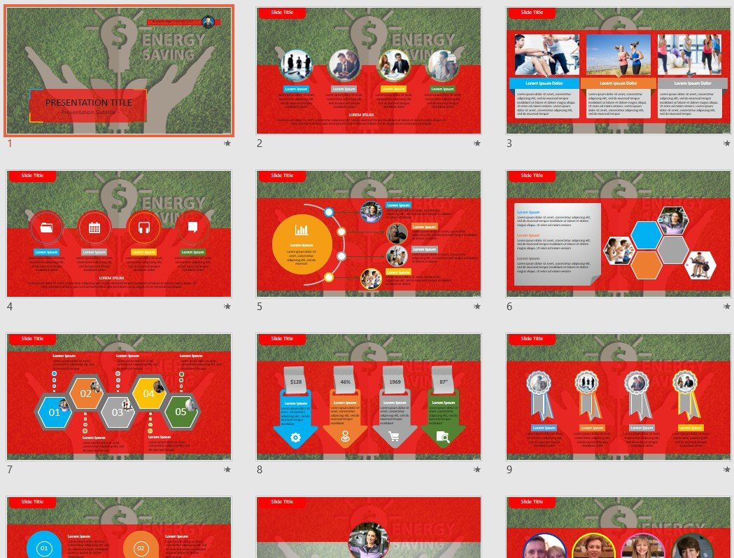 where to save powerpoint templates