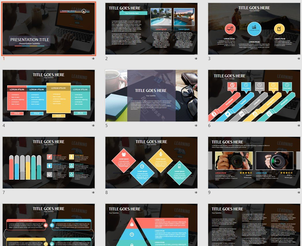 Free learning powerpoint 91384 sagefox free powerpoint templates by james sager toneelgroepblik