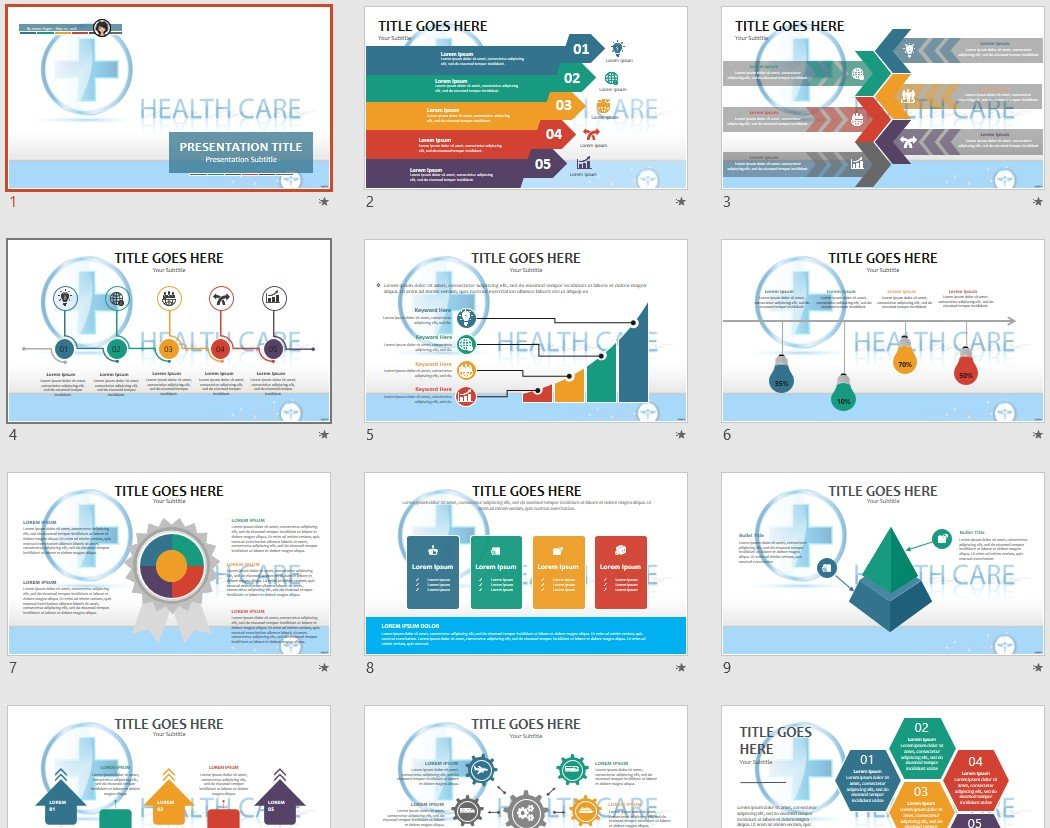 free healthcare powerpoint 96083 sagefox free powerpoint templates