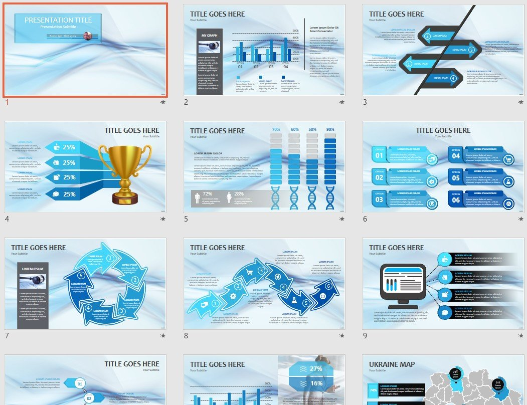 Free Blue Abstract Powerpoint 128167 Sagefox Free Powerpoint