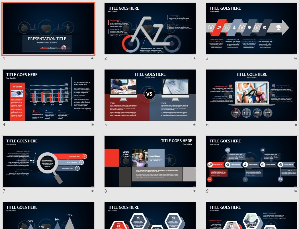 free healthcare concept powerpoint 131719 sagefox free powerpoint