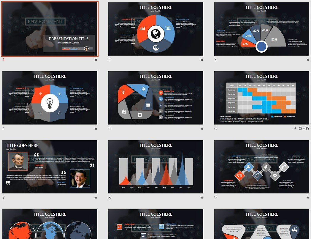 free environment powerpoint 91479 sagefox free powerpoint templates