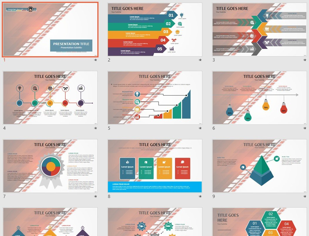 Free Abstract Powerpoint 95828 Sagefox Free Powerpoint Templates