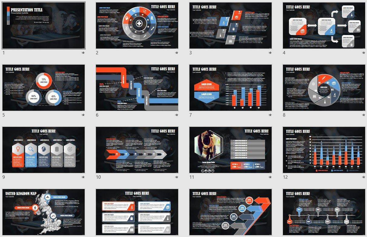 Business Technology Powerpoint Template 139717