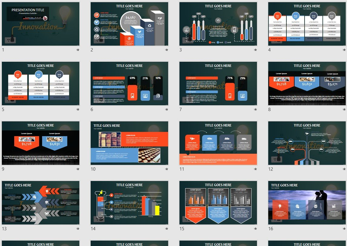 Technological Innovation PowerPoint Template #82215
