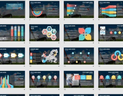Free Golf Powerpoint Free Golf Powerpoint Templates